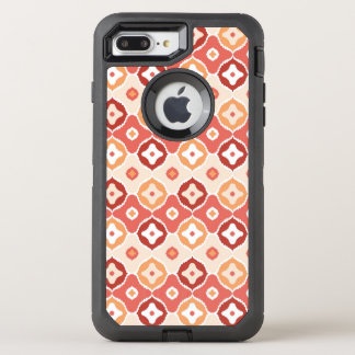 Coque OtterBox Defender iPhone 8 Plus/7 Plus Motif géométrique d'ikat d'or