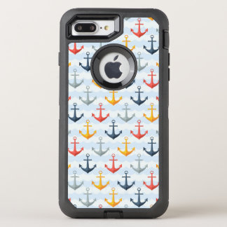 Coque OtterBox Defender iPhone 8 Plus/7 Plus Motif nautique avec des ancres