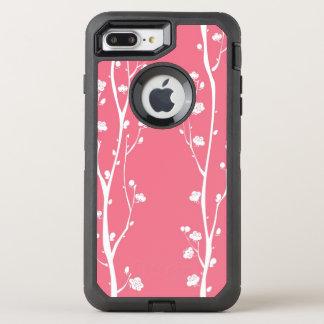 Coque OtterBox Defender iPhone 8 Plus/7 Plus Motif oriental de fleur de prune