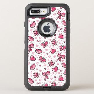 Coque OtterBox Defender iPhone 8 Plus/7 Plus motif romantique