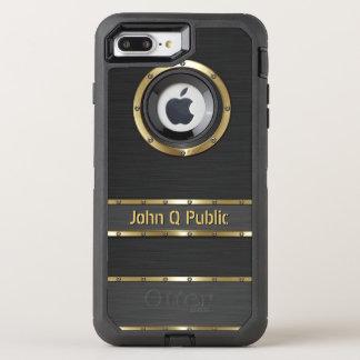 Coque OtterBox Defender iPhone 8 Plus/7 Plus Or moderne et noir