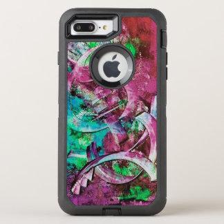 Coque OtterBox Defender iPhone 8 Plus/7 Plus Rose, Aqua, abrégé sur vert