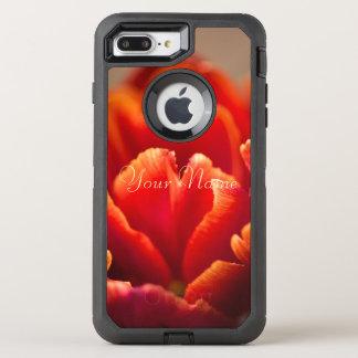 Coque OtterBox Defender iPhone 8 Plus/7 Plus Tulipe rouge