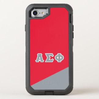 Coque Otterbox Defender Pour iPhone 7 Alpha lettres de Grec du phi | de sigma