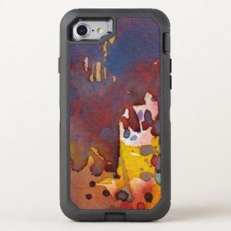 Coque Otterbox Defender Pour iPhone 7 aquarelle 8 d'arrière - plan