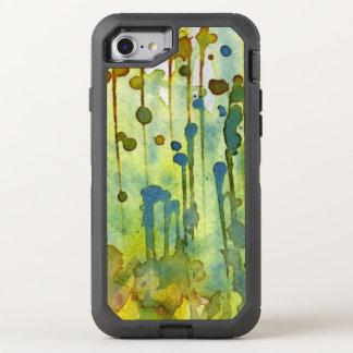 Coque Otterbox Defender Pour iPhone 7 arrière - plan abstrait