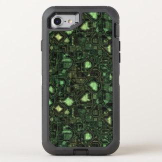Coque Otterbox Defender Pour iPhone 7 Arrière - plan de circuit d'ordinateur