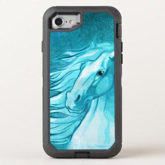 Coque Otterbox Defender Pour iPhone 7 Art numérique de cheval de médias mélangés