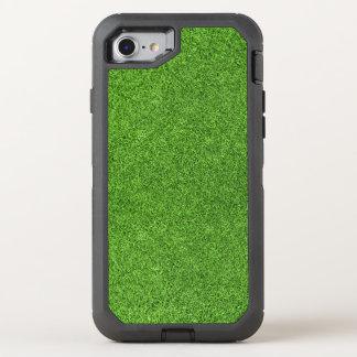 Coque Otterbox Defender Pour iPhone 7 Belle texture d'herbe verte de terrain de golf