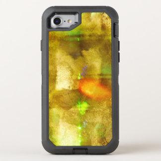 Coque Otterbox Defender Pour iPhone 7 brun sans couture de couleur abstraite de texture,