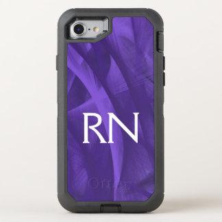 Coque Otterbox Defender Pour iPhone 7 Caisse pourpre de téléphone de RN de remous