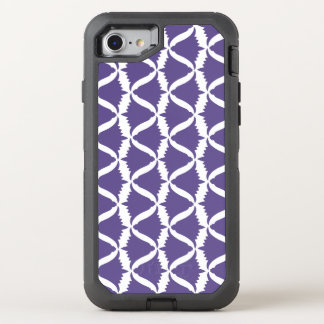 Coque Otterbox Defender Pour iPhone 7 Campanule pourpre ultra-violette de pré de fleur
