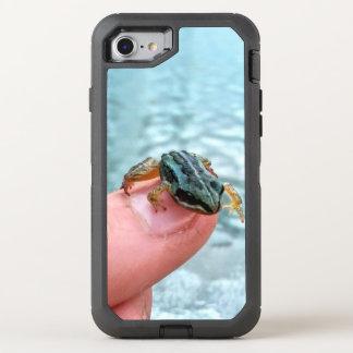 Coque Otterbox Defender Pour iPhone 7 Cas minuscule de grenouille de bébé