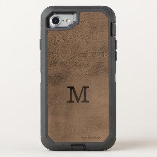 Coque Otterbox Defender Pour iPhone 7 Cas simili cuir de l'iPhone 7 de selle de