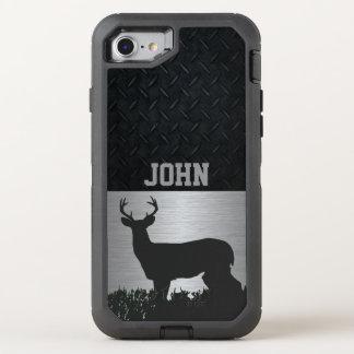Coque Otterbox Defender Pour iPhone 7 Cerfs communs Antlered dans le cas nommé fait sur
