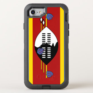 Coque Otterbox Defender Pour iPhone 7 Drapeau du Souaziland