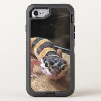 Coque Otterbox Defender Pour iPhone 7 Gecko mignon de léopard