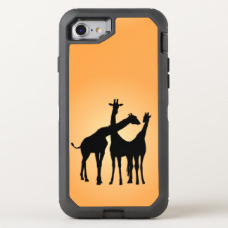 Coque Otterbox Defender Pour iPhone 7 Girafe Flirty