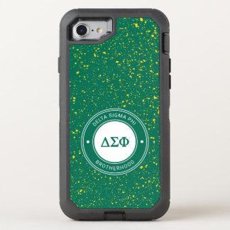 Coque Otterbox Defender Pour iPhone 7 Insigne du phi | de sigma de delta