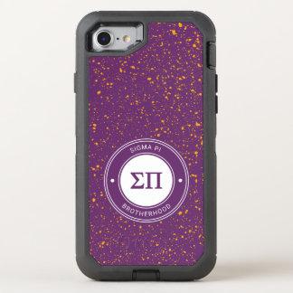 Coque Otterbox Defender Pour iPhone 7 Insigne du sigma pi |