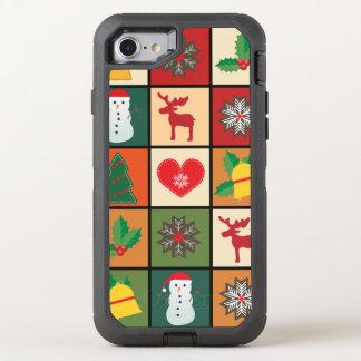 Coque Otterbox Defender Pour iPhone 7 Joyeux Noël