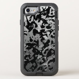 Coque Otterbox Defender Pour iPhone 7 Magie abstraite - noir argenté