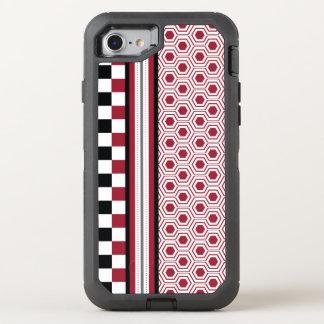 Coque Otterbox Defender Pour iPhone 7 Miel noir rouge