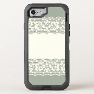 Coque Otterbox Defender Pour iPhone 7 Motif de dentelle, cru 5 de fleur