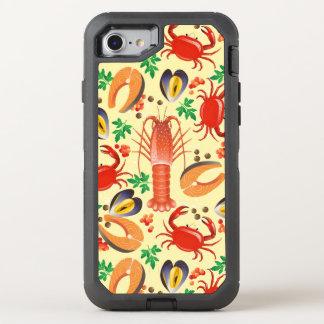 Coque Otterbox Defender Pour iPhone 7 Motif de fruits de mer