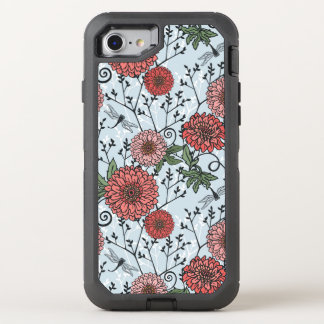 Coque Otterbox Defender Pour iPhone 7 Motif floral 3