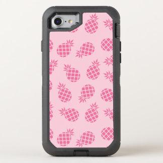 Coque Otterbox Defender Pour iPhone 7 Motif mignon Girly d'ananas de rose en pastel