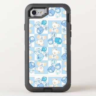 Coque Otterbox Defender Pour iPhone 7 Motif vérifié d'ours de nounours