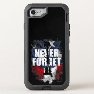 Coque Otterbox Defender Pour iPhone 7 N'oubliez jamais (le Jour du Souvenir)