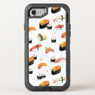 Coque Otterbox Defender Pour iPhone 7 Nourriture japonaise : Motif de sushi