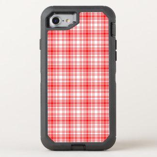 Coque Otterbox Defender Pour iPhone 7 Plaid rouge