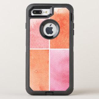 Coque Otterbox Defender Pour iPhone 7 Plus aquarelle colorée