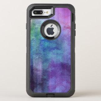 Coque Otterbox Defender Pour iPhone 7 Plus arrière - plan abstrait d'aquarelle d'art sur le