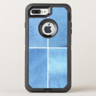 Coque Otterbox Defender Pour iPhone 7 Plus arrière - plan coloré d'aquarelle pour vos 4