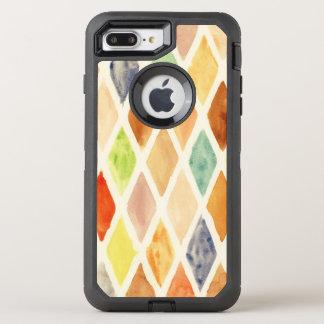Coque Otterbox Defender Pour iPhone 7 Plus Arrière - plan d'aquarelle