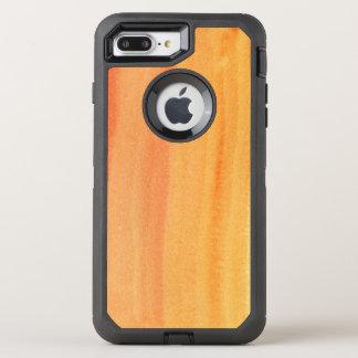 Coque Otterbox Defender Pour iPhone 7 Plus Arrière - plan peint à la main 2 d'aquarelle