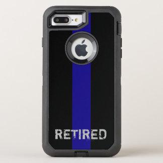 Coque Otterbox Defender Pour iPhone 7 Plus Blue Line mince personnalisé enferment