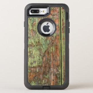 Coque Otterbox Defender Pour iPhone 7 Plus Bois vert usé et patiné de grange