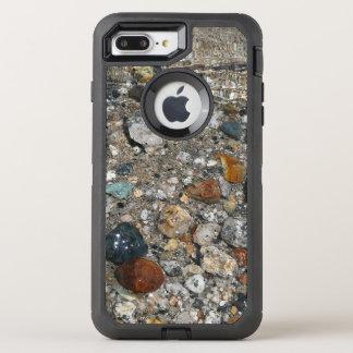 Coque Otterbox Defender Pour iPhone 7 Plus Cailloux de granit en nature de Yosemite de lac