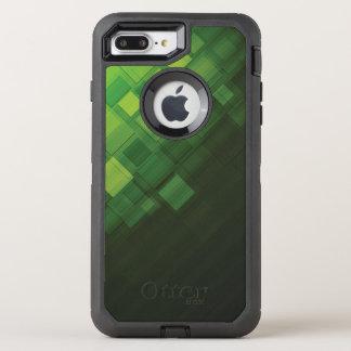 Coque Otterbox Defender Pour iPhone 7 Plus Conception abstraite verte de technologie