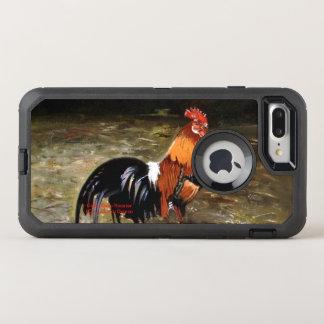 Coque Otterbox Defender Pour iPhone 7 Plus Coq/Gaulois/Rooster