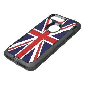 Coque Otterbox Defender Pour iPhone 7 Plus Drapeau d'Union Jack de la Grande-Bretagne
