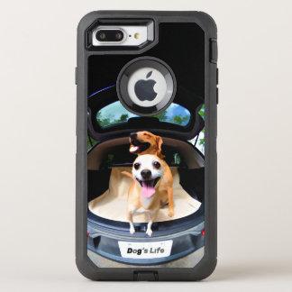 Coque Otterbox Defender Pour iPhone 7 Plus Drôle mignon de lentille de Poisson-oeil de la vie