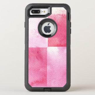Coque Otterbox Defender Pour iPhone 7 Plus grandes bannières d'aquarelle pour votre