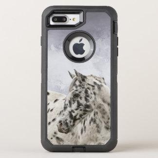 Coque Otterbox Defender Pour iPhone 7 Plus Hongre renversant d'appaloosa