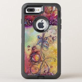 COQUE OTTERBOX DEFENDER POUR iPhone 7 PLUS JARDIN DES OMBRES PERDUES - PLANTE DE PAPILLON